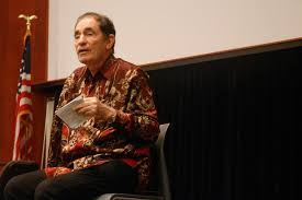 Albie Sachs, retired Justice of the South African Constitutional Court and Great Lawyer. Image by KOMUnews.