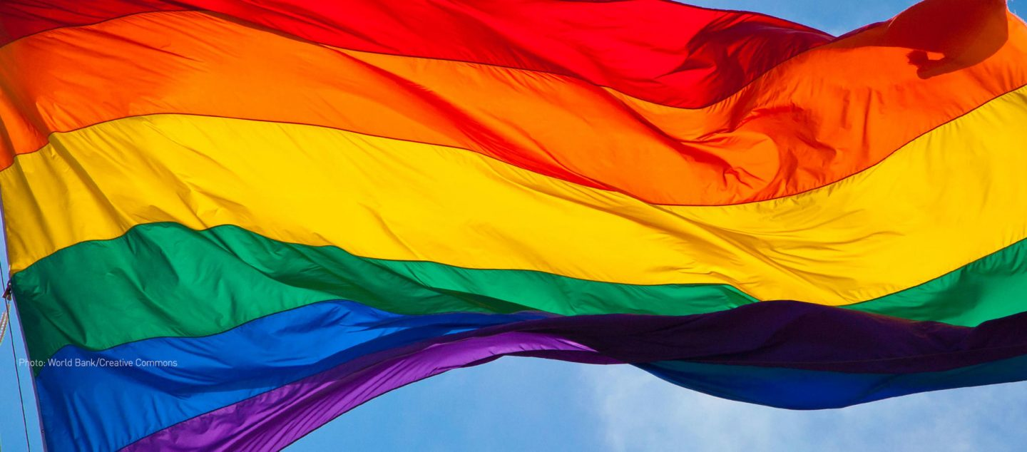 Credit to freelibrary.org for the Rainbow Flag